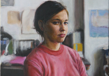 Jessica, 2011, Oil on canvas, 55 x 45 cm